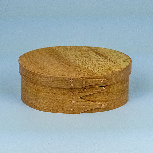 Shaker box with cherry sides and sycamore top