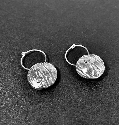Hand-Molded Hoop Earrings