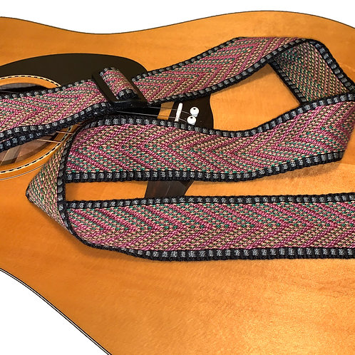 Handwoven Guitar Strap-1, special gift for musicians