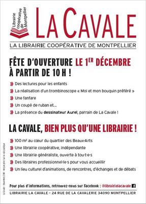 Librairie indépendante à Montpellier - La cavale