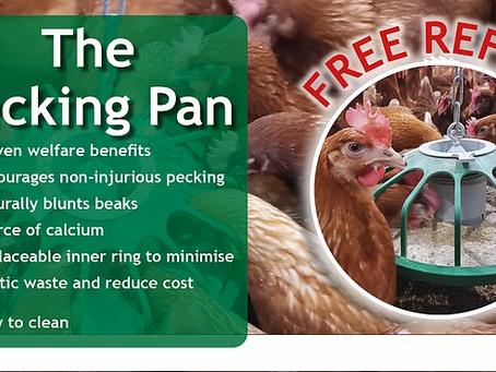 FREE PECKING PAN REFILL !