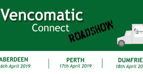 Vencomatic Connect Roadshows - 16th to 18th April 2019