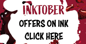 Spooktacular offers for Inktober