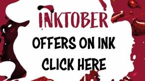 Spooktacular offers for Inktober