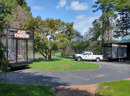 More Axe Trailers, More Signage, More Fun In The Fall