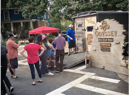 Make this years business event fun, unique, and memorable with a mobile escape room!