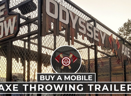 Buy A Mobile Axe Throwing Trailer With Odyssey
