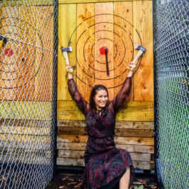 Axe Throwing Bullseye