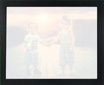 Canvas Revealx printed canvas is the best. 2 kids ready to be revealed