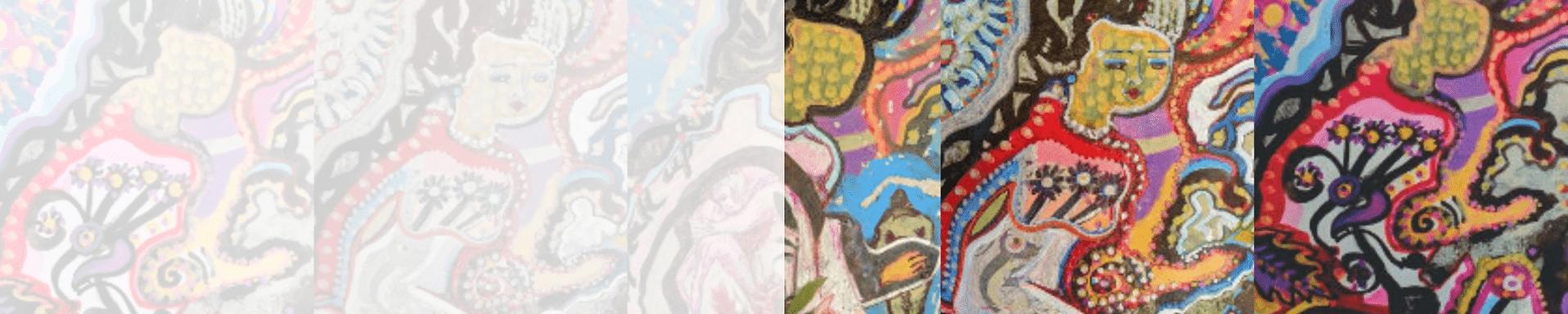 Canvas Revealx mix media reveal