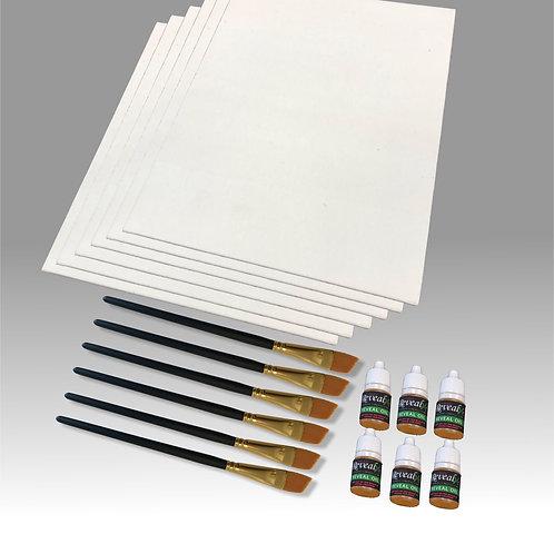 8x10 Canvas Panel Kit Buy 4 Get 2 Free