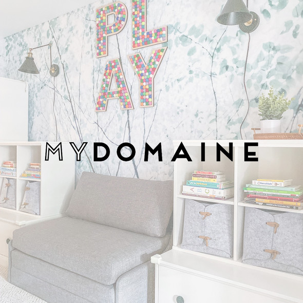 Whimsical Playroom in a Historic Townhouse