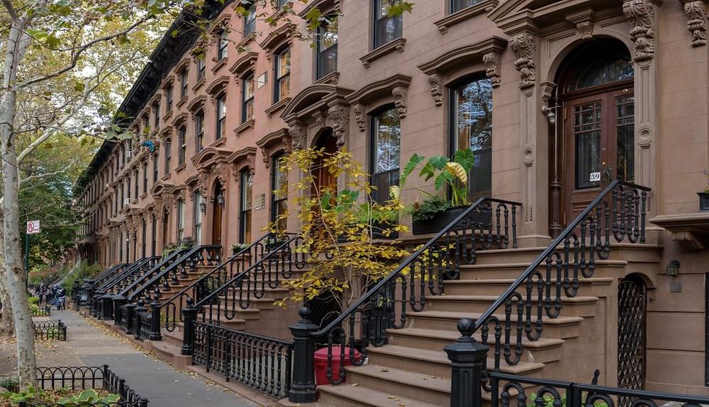 New York City Historic Brownstones