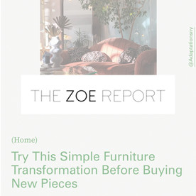 Try This Simple Furniture Transformation Before Buying New Pieces