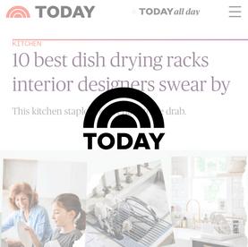 10 best dish drying racks interior designers swear by