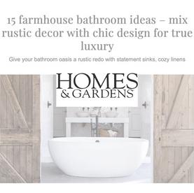 15 Farmhouse Bathroom Ideas – mix rustic decor with chic design for true luxury