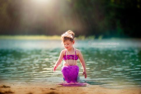 Children Mermaid Photography