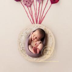 Toronto Newborn Photography Pink Hearts.