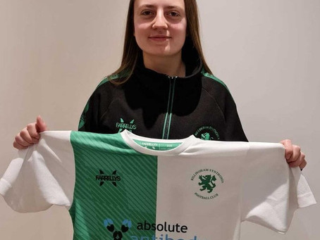 Ash Lofthouse joins Synners Ladies from Middlesbrough Ladies.