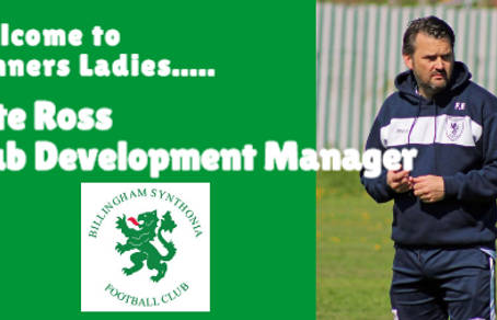 Ross takes Club Development Manager Role