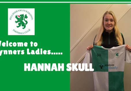 Synners Sign Hannah Skull
