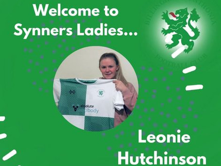Leonie Hutchinson signs with Synners!!!