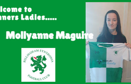 Mollyanne Maguire Signs for Synners Ladies