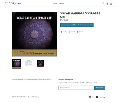 ÒSCAR GARRIGA 'CORAGRE ART' – ARTBOX PUB