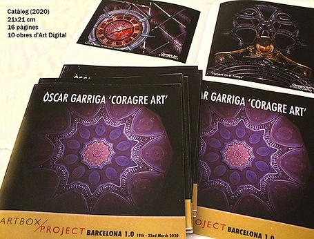 ÒSCAR GARRIGA 'CORAGRE ART' – Cataleg AR