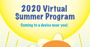 The 2020 Virtual Summer Program Starts in July!