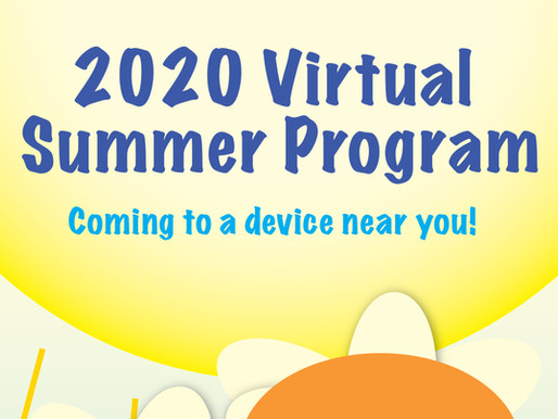 The 2020 Virtual Summer Program Starts in July!