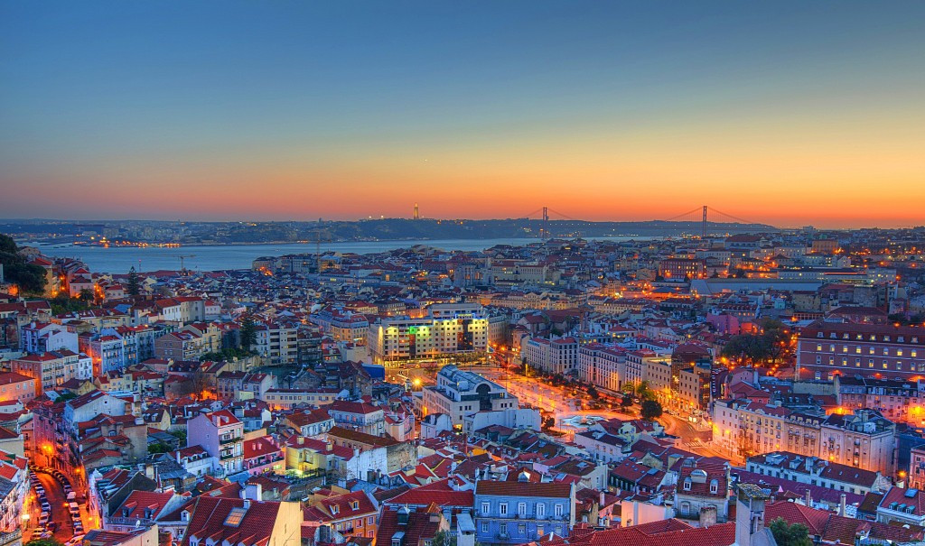 Panoramic Lisbon View