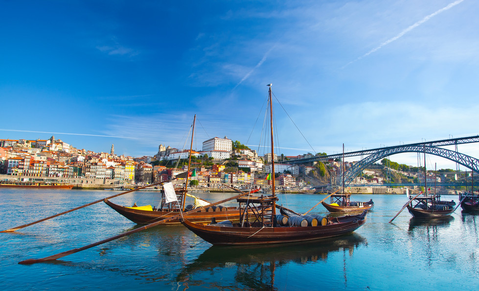 Douro River in Porto