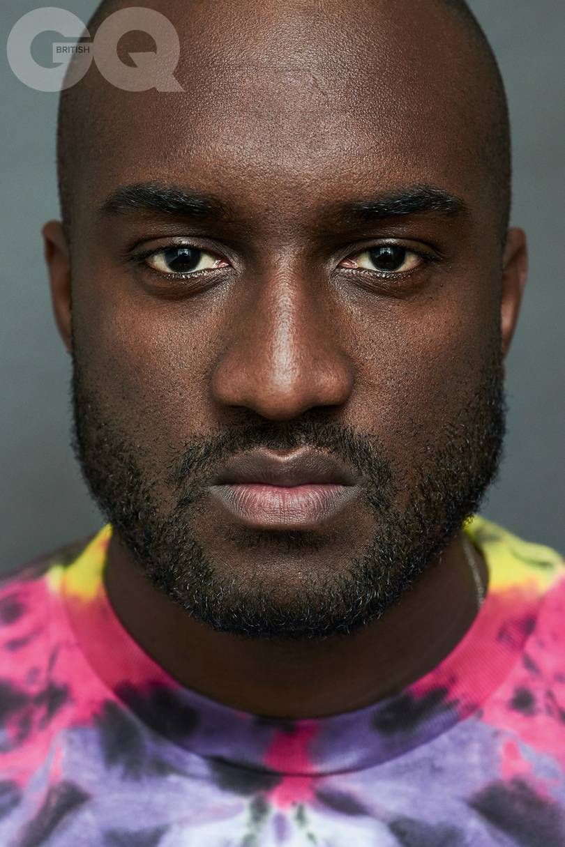 Virgil abloh GQ British