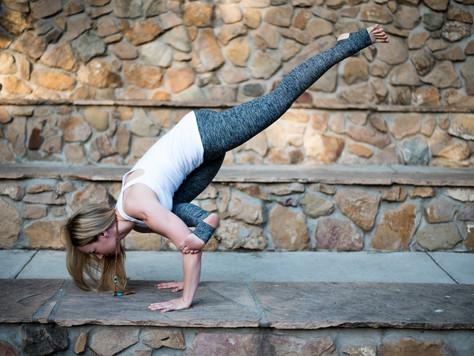Arm balances are life changing