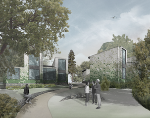 Modulor Studio shortlisted in competition for Trinity College student village