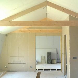 Hampton flats are taking shape on site