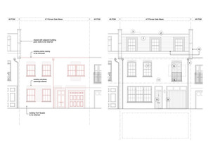 Planning awarded for a Mews House in RBKC