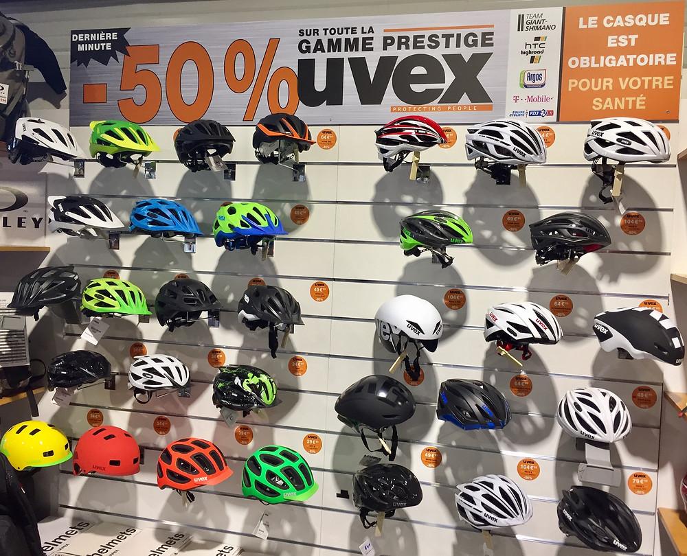 Casques VTT, route, bol... découvrez toute la gamme prestige de chez UVEX à -50%.