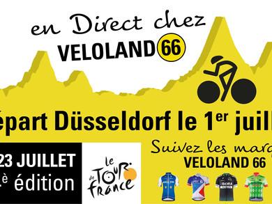 Suivez en direct au magasin le départ du Tour de France !