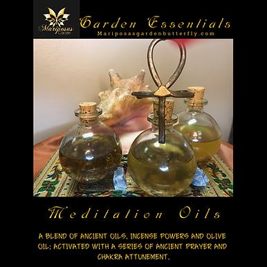 Goddess Meditation oils