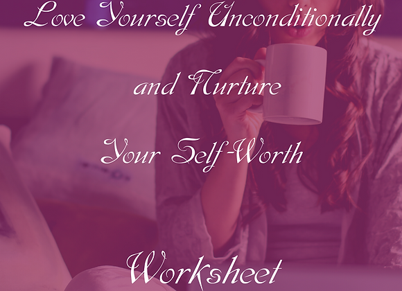 30 Days To Greater Self Love- Worksheet