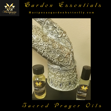 Sacred Prayer Oils