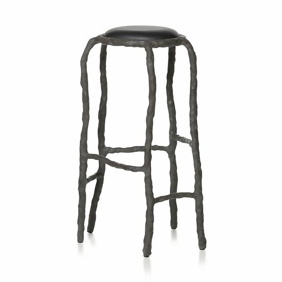 PLAIN CLAY Bar stool