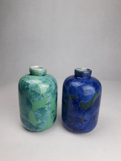 CRYSTALLINE Small vase