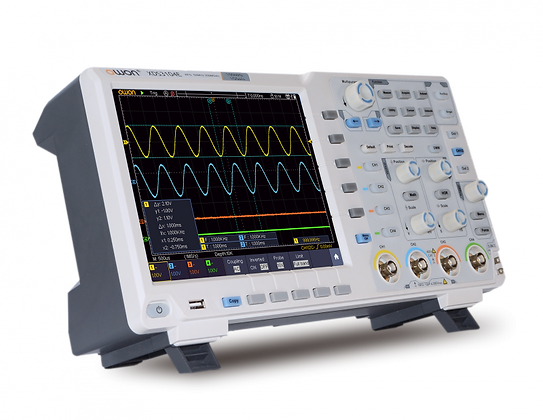 OSCILLOSCOPE HAUTE RESOLUTION 14 bits ADC AVEC OPTION VGA