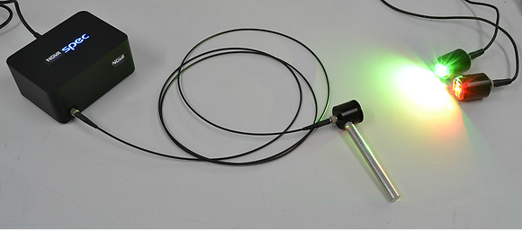 Spectromètre à fibre-priorité résolution 0.5nm/380-1050nm