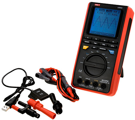 MULTIMETRE/OSCILLOSCOPE 2 EN 1 UNI-T