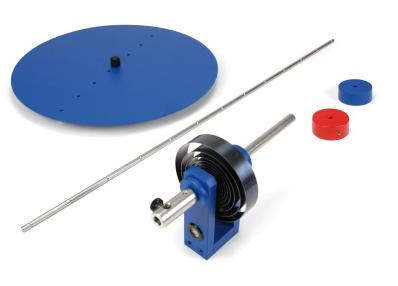Axe de torsion pour étude des moments de cinétique
