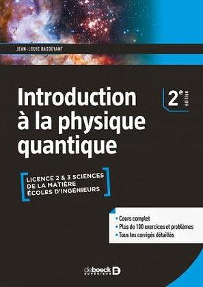 """Ouvrage""""Introduction à la physique quantique"""""""